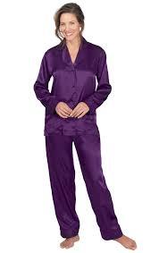 blue satin pajamas pajamagram