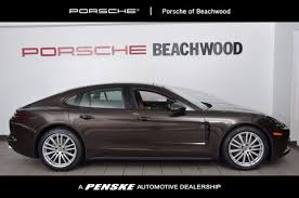 porsche panamera brown 2018 porsche panamera 4 awd at penske cleveland serving all of