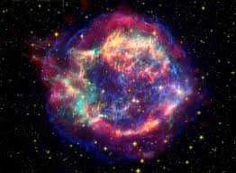 these are real images of a star going supernova