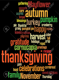 thanksgiving background image thanksgiving background with random layout of thanksgiving words