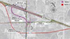 Mn Dot Traffic Map New Wye Option Could Reroute Highway 12 West Central Tribune