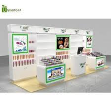 Cosmetic Cabinet Cosmetic Display Cabinet Mall Kiosks Food Carts Display Showcase