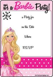 best barbie birthday invitation cards 19 in birthday party