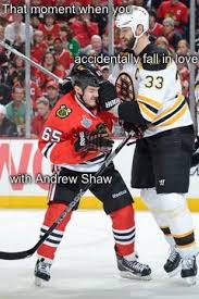 Andrew Shaw Meme - that moment when you accidentally fall in love with andrew shaw