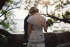 audre and luke u0027s intimate backyard wedding madison wi lovely