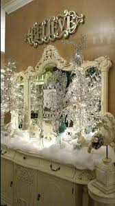 Winter White Christmas Decorations by 847 Best Winter Christmas Decorations Images On Pinterest