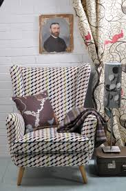 howard keith wing back chair reupholstered at kendal upholstery