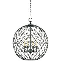 Currey And Company Lighting Currey And Company 9618 Simpatico Orb Four Light Small