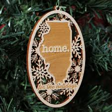 locket ornament wooden christmas ornaments shop