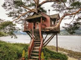 treehouse homes for sale treehouse at the lodge in loch goil scotland treehouse scotland