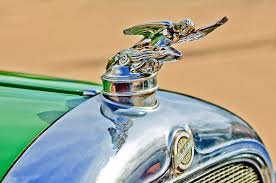 1928 studebaker ornament photograph by reger
