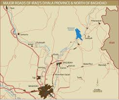 Baghdad World Map by Northern Baghdad And Diyala Province Roads Institute For The