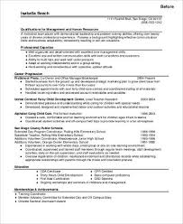 Career Change Resume Examples by Writing An Attention Grabbing Career Objective Free Dolwnload Doc