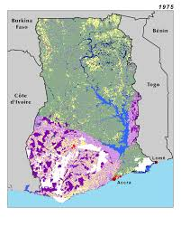 africa map high resolution land use land cover and trends in west africa