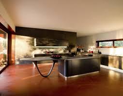 Black Kitchen Islands by Kitchen U0026 Dining Curved Kitchen Island Makes Shape Accent In