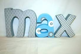 Block Letters For Wall Adorable Block Letters For Wall Decor White