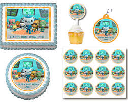 octonauts cake topper octonauts cake topper etsy uk
