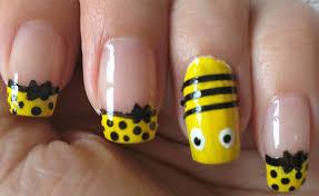 bee nail art ars arts nail designs youtube