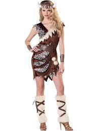 barbarian cavewoman costume womens viking fancy dress