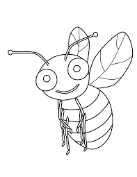 best bee coloring page 63 4461