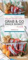Snack Basket Why You Should Create A Grab U0026 Go Snack Basket For Kids A Few