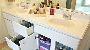 bathroom storage solutions a bathroom counter and cabinet with