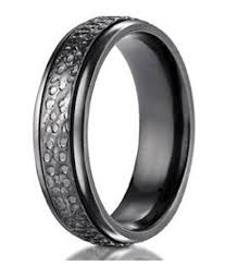 titanium mens rings titanium rings for men hammered design