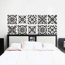 compare prices on wall decals star online shopping buy low price headboard wall decal geometric dorm decor shabby chic star snowflake bedroom vinyl sticker mural wall art