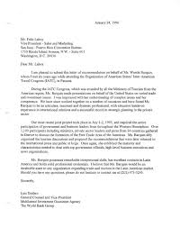 formal letter of recommendation microsoft letter of