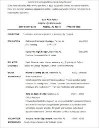 Lpn Nursing Resume Examples by Nursing Student Resume Resume For Student Nurse Example Of Nurse