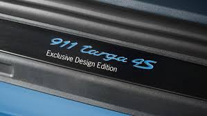 targa porsche 4s new porsche 911 targa 4s exclusive design edition