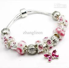 beads charm bracelet images Fashion european design lovely beads charm 925 silver bracelet diy jpg
