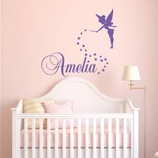 girls name wall decal fairy wall decal personalized name details girls name wall decal
