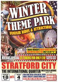 winter theme park circus winter theme park