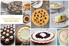 favorite thanksgiving pie recipes barbara bakes