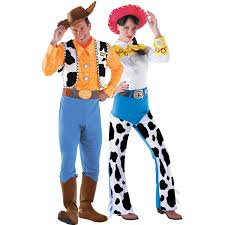 woody cowboy jessie deluxe toy story couples costume