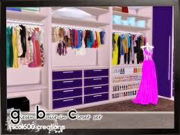 Wallpaper Closet My Sims 4 Blog Walk In Closet U0026 Living Set Wallpaper And More By