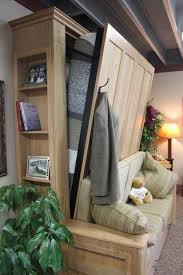 Wall Bed Sofa Systems Best 25 Murphy Bed With Couch Ideas On Pinterest Hidden Bed