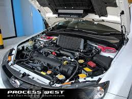 black subaru process west verticooler black tmic subaru wrx 08 14 kamispeed com