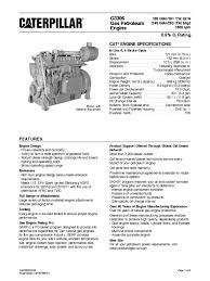g3306 gas petroleum enginepdf engines exhaust gas