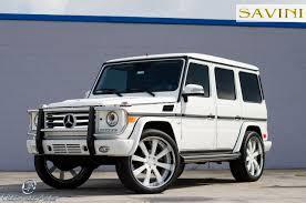 mercedes jeep matte white g wagen savini wheels