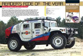 original hummer throwback thursday 2007 readers ride of the year rally hummer