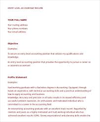 Parse Resume Example by Accountant Resume 9 Free Word Pdf Documents Download Free