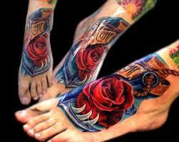 anchor tattoo the best flower tattoos