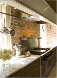 red kitchen backsplash ideas kitchen brick veneer backsplash pictures beautiful exposed brick