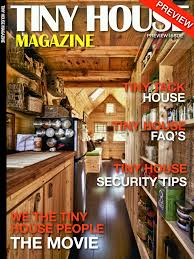 tiny house magazine by kent griswold