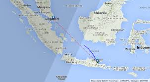 air asia indonesia lost contact from surabaya to singapore