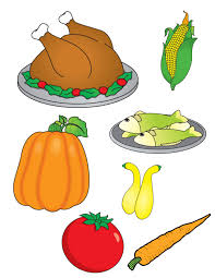 thanksgiving food clipart 82587