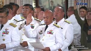 Flag Officer In Command Philippine Navy Oathtaking Of Newly Appointed Generals And Flag Officers 12 6 2017