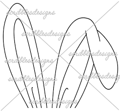 bunny ears coloring page bunny ear coloring pages bltidm